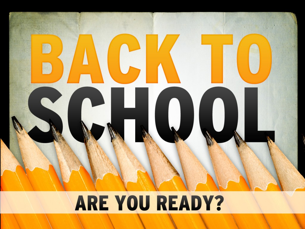 Back to school time, ducks in a row organizers